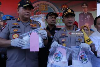 Polrestabes Surabaya Ungkap Peredaran Narkoba asal China