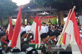 Presiden Jokowi Berangkatkan Kirab Santri (Video)