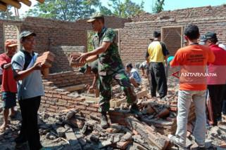 33 Rumah Warga Jember Rusak akibat Gempa Situbondo