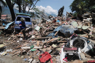 BNPB: Korban Meninggal Gempa -Tsunami Sulteng 2.073 Orang