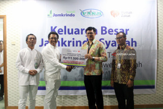 Jamkrindo Syariah Peduli Gempa dan Tsunami Sulawesi Tengah