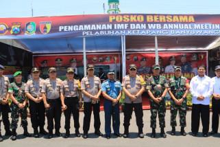 Kapolda Jatim dan Pangdam V/Brawijaya Tinjau Pelabuhan Ketapang