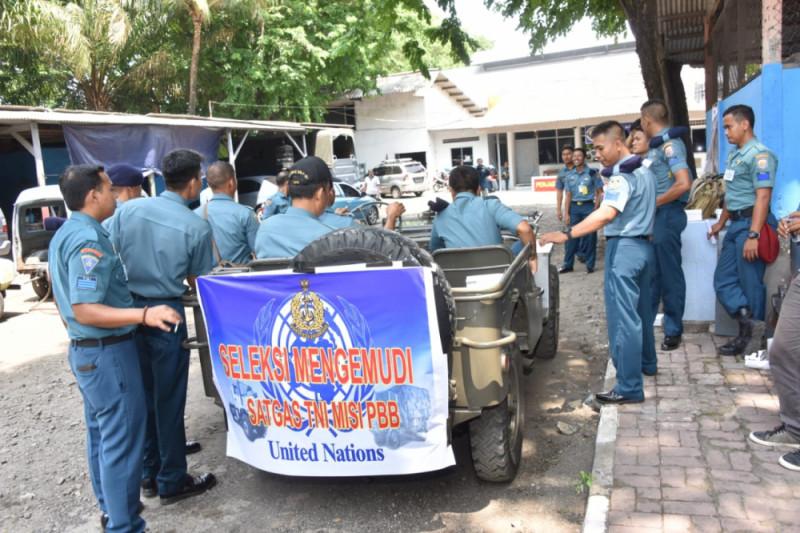 Ratusan Prajurit TNI AL Ikut Seleksi Pasukan Perdamaian