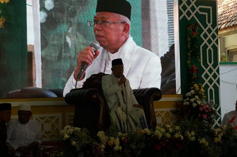 Maruf Amin Harapkan Santri Bisa Jadi Presiden