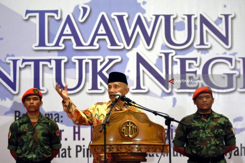 Amien Rais: Saya Jewer Kalau Muhammadiyah Tak Bersikap di Pilpres (Video)