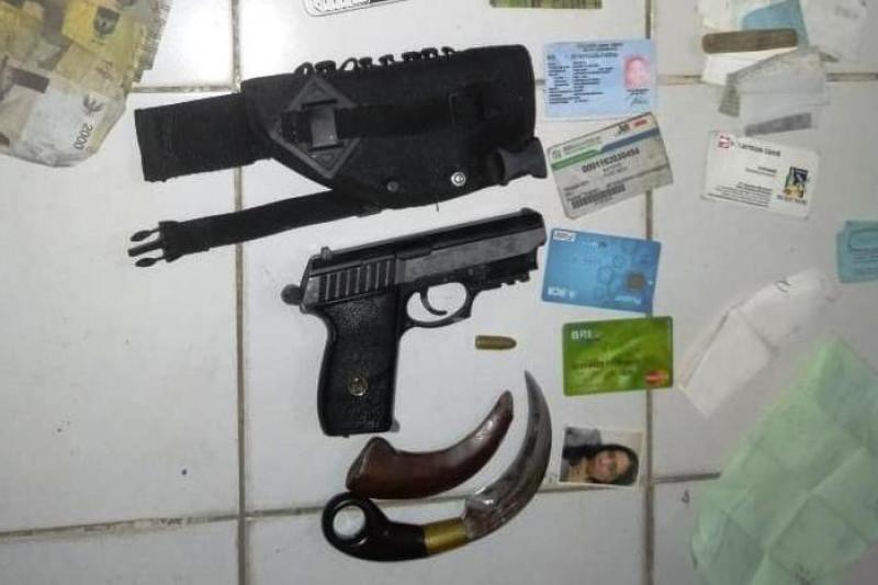 Perwira TNI Gadungan Diamankan Lantamal V