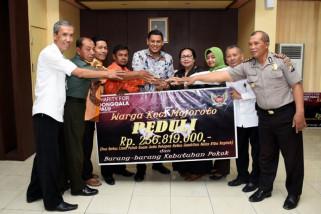 Warga Mojoroto-Kediri Kumpulkan Bantuan untuk Korban Bencana di Palu