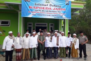 Kapolda Jatim Silaturahmi dengan Ulama Madura