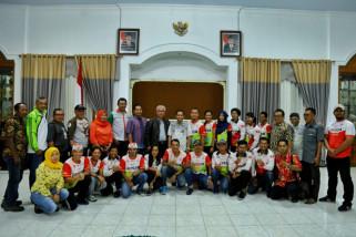 Bupati Kenalkan Wisata Unggulan Lumajang kepada Jelajah Sepeda Nusantara