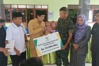 Perbaikan Rumah Terdampak Angin Kencang di Sidoarjo Rampung Akhir November