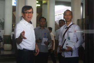 Kunjungan Menkumham di Malang