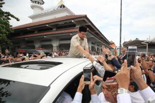 Prabowo: Sunan Ampel Inspirasi Masa Depan Islam