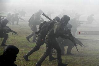 Atraksi Prajurit Korps Marinir