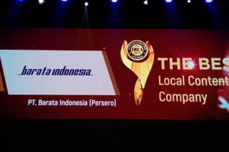 Barata Raih Penghargaan Sebagai Perusahaan dengan Konten Lokal Terbaik