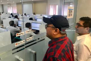 Tes Tulis Seleksi KPU Jatim Dipantau Arief Budiman (Video)
