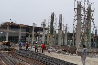 Pembangunan Lapangan Tembak Internasional di Surabaya Capai 80 Persen