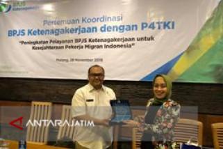 BPJS Ketenagakerjaan Malang Kover Asuransi Belasan Ribu Pekerja Migran