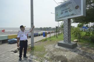 BMKG-Dishub Surabaya Pasang Papan Informasi Cuaca Digital