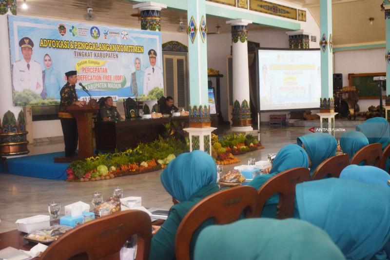"""Pemkab Madiun Gelar Advokasi dan Penggalangan Komitmen Percepatan """"ODF"""" (video)"""