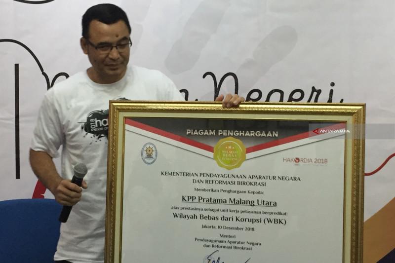 KPP Pratama Malang Utara Raih Predikat WBK