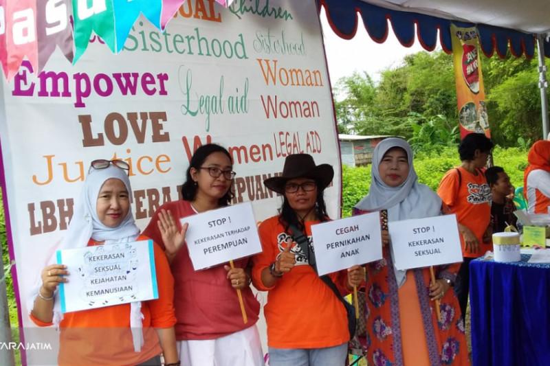 LBH Jentera Kampanyekan 16 hari Antikekerasan terhadap Perempuan dan Anak di Jember