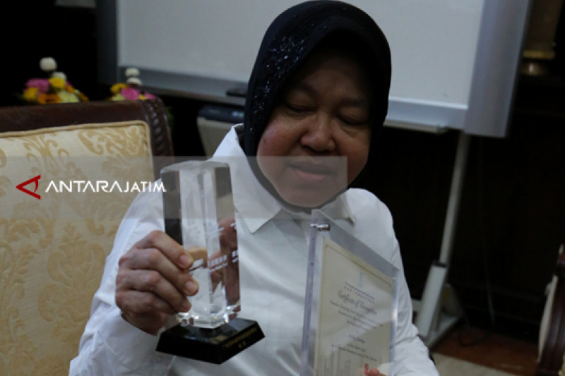 Risma Ucapkan Terima Kasih Atas Dukungan Surabaya Raih Guangzhou Award