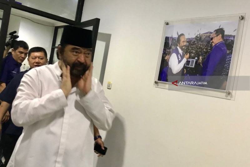 Surya Paloh Klaim Pakde Karwo Dukung Jokowi di Pilpres