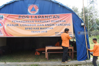 BPBD Magetan Dirikan Pos Penanganan Darurat Bencana