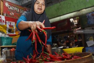 Harga Cabai di Pasar Maospati Magetan Naik Jadi Rp40.000/kg