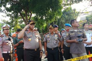 Tanah Ambles Jalan Gubeng, Polisi Pastikan Tidak Ada Korban