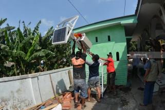 BPBD Situbondo Pasang Alat Pendeteksi Dini Banjir