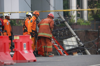 Jalan Raya Gubeng Ambles, Arus Lalu Lintas Dialihkan