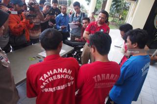 Polrestabes Surabaya Ungkap Komplotan Pencuri Motor