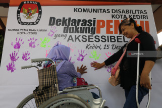 Deklarasi Dukung Aksesibilitas Pemilu