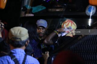 Polrestabes Surabaya Bubarkan Aliansi Mahasiswa Papua (Video)