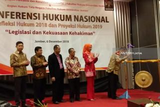 Ketua MK dan Ketua KY Hadiri Konferensi Hukum Nasional di Jember