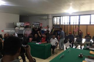 Sidang Dugaan Pelanggaran Kampanye Dua Caleg PDIP Surabaya Ricuh (Video)