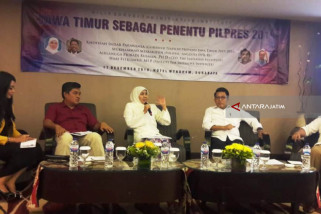 Survei The Initiative Institute Catat Elektabilitas Jokowi Unggul di Jatim