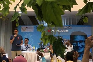 Titik Kunjungan Ke-800, Sandiaga Uno Dialog Kewirausahaan di Surabaya (Video)