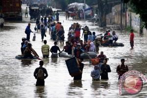 12.400 Korban Banjir Bandung Masih Mengungsi