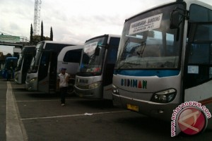 Terminal Cicaheum Siapkan 20 Bus Cadangan
