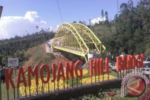 Jembatan Kamojang Jadi Tempat Warga Nikmati Pemandangan
