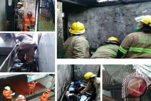 Awal Tahun 2017 Diwarnai Kebakaran di Bandung