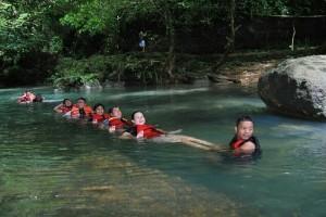 Uji Keberanian di Sungai Citumang