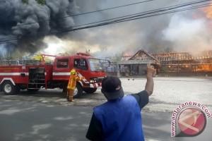 Toko Rotan Jalan Soekarno Hatta Bandung Kebakaran