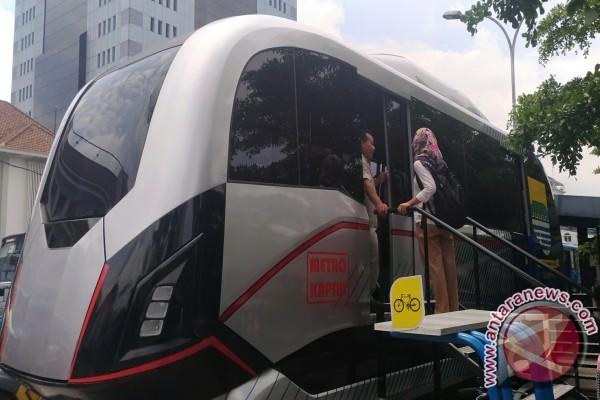 Pencanangan Metro Kapsul Bandung dilaksanakan Senin siang