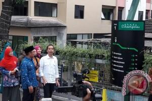 Jokowi di Teras Cihampelas