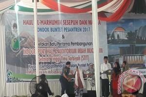 Jokowi Bersilaturahim dengan Ulama dan Santri Buntet