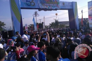 """Color Run"" Semarakkan HUT ke-65 Bank BJB"