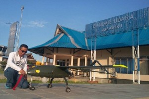 Drone BPPT Sukses Terbang Selama Tujuh Jam